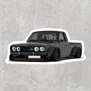 Datsun 620 Sticker (2.5″ x 1.25″)