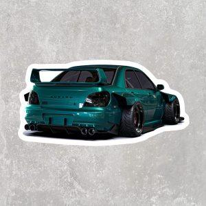 Subaru Impreza WRX Sticker (2.5″ x 1.25″)