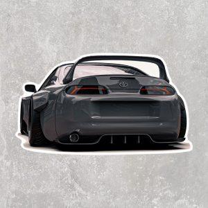 Toyota Supra MKIV Sticker (3″ x 2″)