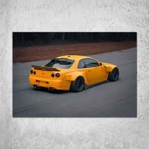 R34 GTR Poster (4 Color Choices)