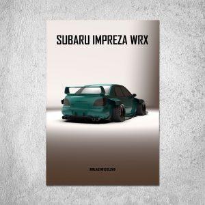 Subaru Impreza WRX Poster