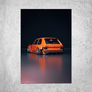MK1 Golfy Boi Poster