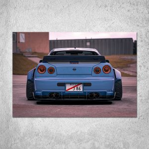 R34 Poster (2 Color Choices)